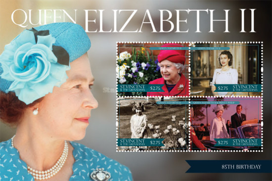 [Royal Anniversaries - The 85th Anniversary of the Birth of Queen Elizabeth II, Typ ]