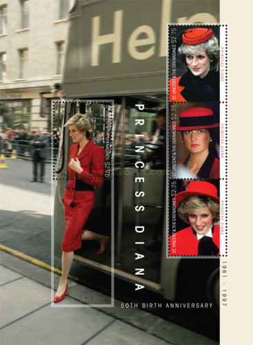 [The 50th Anniversary of the Birth of Princess Diana, Typ ]
