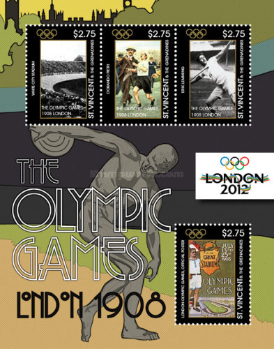 [Olympic Games - London 1908 & 2012, Typ ]
