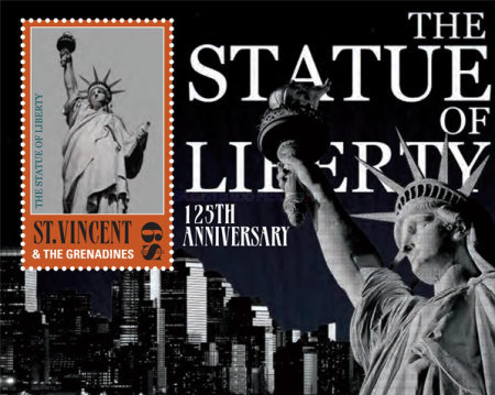 [The 125th Anniversary of the Statue of Liberty, New York, Typ ]