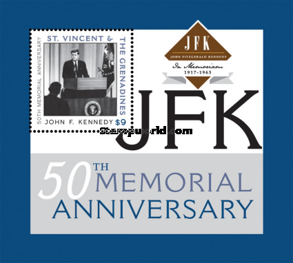 [The 50th Anniversary of the Death of J.F.Kennedy, 1917-1963, Typ ]