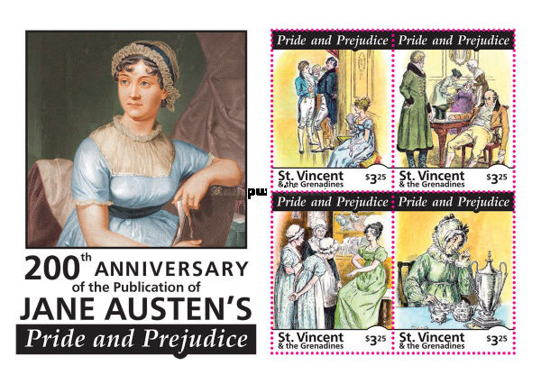 [The 200th Anniversary of the Publication of Jane Austin's Pride and Prejudice, Typ ]