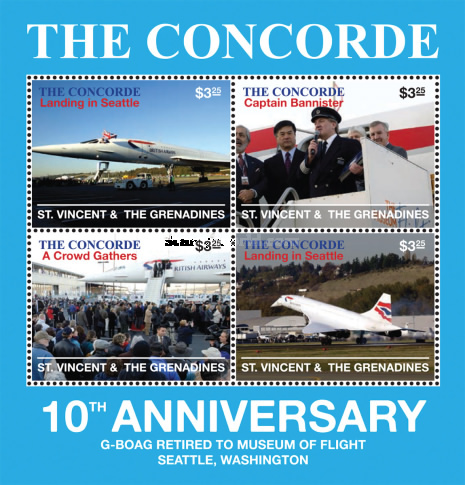 [The 10th Anniversary of the Last Flight of the Concorde, Typ ]