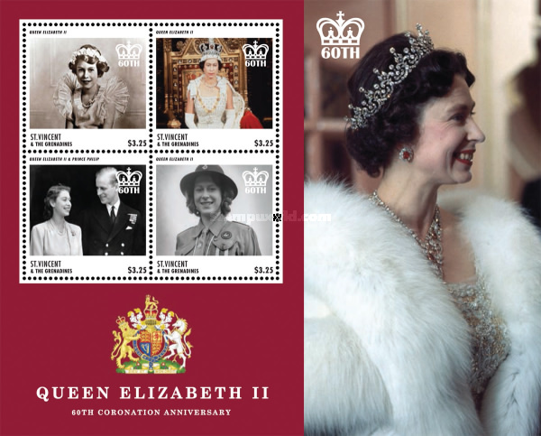 [The 60th Anniversary of the Coronation of Queen Elizabeth II, Typ ]