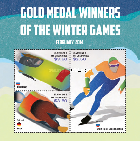 [Gold Medal Winners of the Winter Olympics - Sochi, Russia, Typ ]