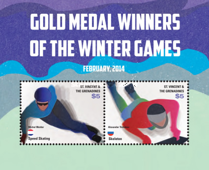 [Gold Medal Winners of the Winter Olympics - Sochi, Russia, type ]