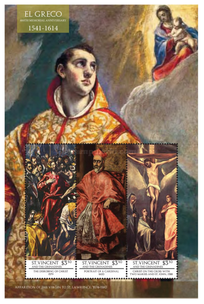[The 400th Anniversary of the Death of El Greco, 1541-1614, Typ ]