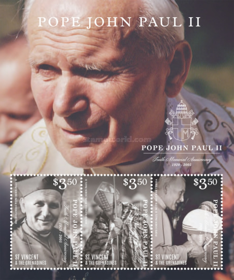 [The 10th Anniversary of the Death of Pope John Paul II, 1920-2005, Typ ]