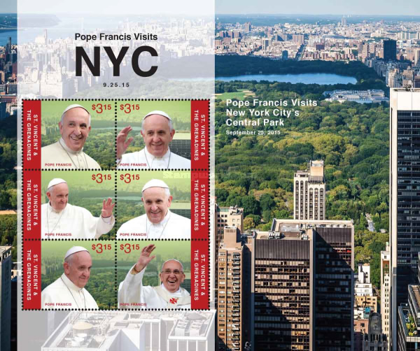 [Pope Francis Visits New York City, USA, Typ ]