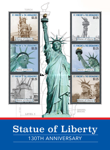 [The 130th Anniversary of the Statue of Liberty, Typ ]