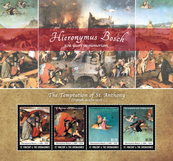 [Paintings - The 500th Anniversary of the Death of Hieronymus Bosch, 1450-1516, Typ ]