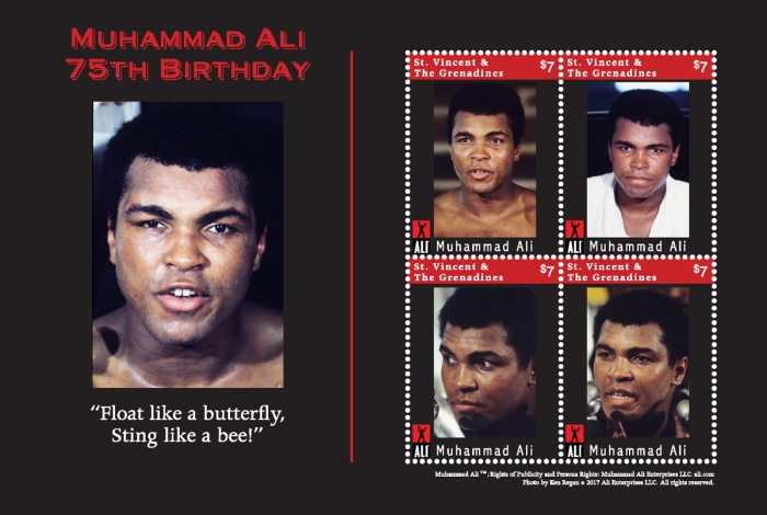 [The 75th Anniversary (2017) of the Birth of Muhammad Ali, 1942-2016, Typ ]