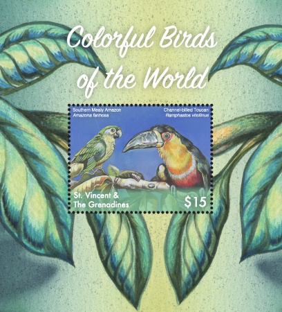 [Colorful Birds of the World, Typ ]