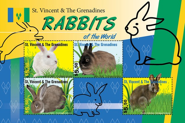 [Fauna - Rabbits of the World, type ]