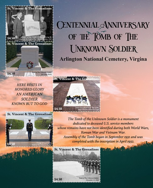 [The 100th Anniversary of the Tomb of the Unknown Soldier, type ]