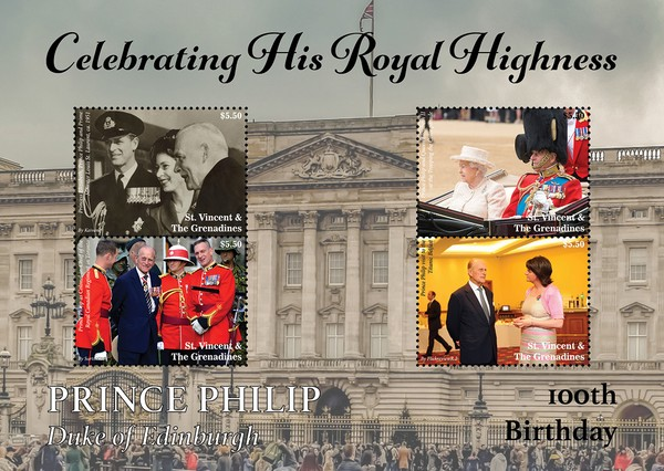 [The 100th Anniversary of the Birth of Prince Philip, 1921-2021, type ]