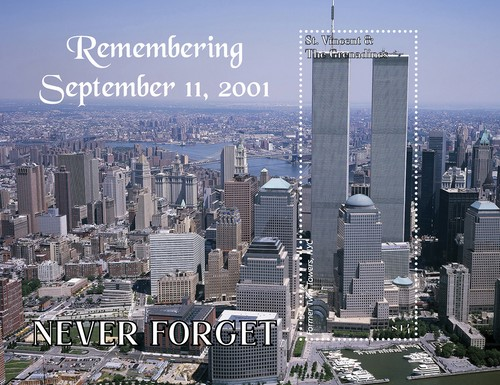 [The 20th Anniversary of the September 11 Terror Attack - Never Forget, type ]