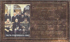 [The 50th Anniversary of the End of World War II, type ACW]