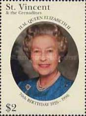 [The 70th Anniversary of the Birth of Queen Elizabeth II, Typ AUG]