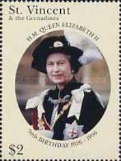 [The 70th Anniversary of the Birth of Queen Elizabeth II, Typ AUH]