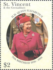 [The 70th Anniversary of the Birth of Queen Elizabeth II, Typ AUI]