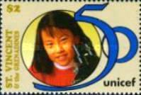 [The 50th Anniversary of UNICEF, Typ AUL]