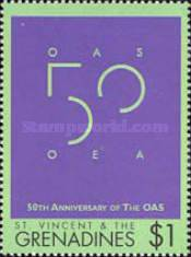 [The 50th Anniversary of The OAS, type CCS]