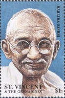 [The 50th Anniversary of the Death of Mahatma Gandhi, 1869-1948, type CCT]