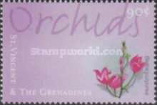 [International Philatelic Exhibition THE STAMP SHOW 2000, London - Orchids, type CSW]
