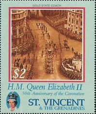 [The 50th Anniversary of the Coronation of Queen Elizabeth II, Typ EBN]