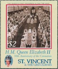 [The 50th Anniversary of the Coronation of Queen Elizabeth II, Typ EBQ]