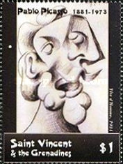 [Paintings by Pablo Picasso, 1881-1973, Typ EDB]