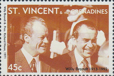 [The 80th Anniversary of the Birth of Willy Brandt, 1913-1922, Typ EH]