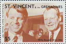 [The 80th Anniversary of the Birth of Willy Brandt, 1913-1922, Typ EI]