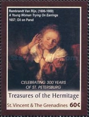 [The 300th Anniversary of St. Petersburg - Paintings, Typ ENC]
