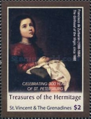 [The 300th Anniversary of St. Petersburg - Paintings, Typ END]