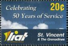 [The 50th Anniversary of LIAT, Typ EUR]