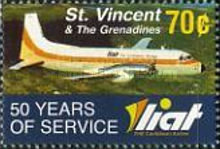 [The 50th Anniversary of LIAT, Typ EUT]