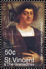 [The 50th Anniversary of Death of Columbus, 1451-1506, Typ EUW]
