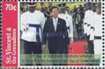[The 25th Anniversary of the Diplomatic Relations between St. Vincent and the Grenadines and Republic of China (Taiwan), Typ EVY]
