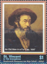 [The 400th Anniversary of the Birth of Rembrandt, 1606-1669, Typ EWH]