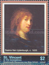 [The 400th Anniversary of the Birth of Rembrandt, 1606-1669, Typ EWI]