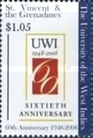 [The 60th Anniversary of the University of the West Indies, type FCC]