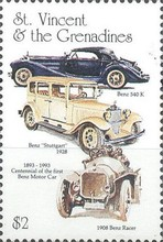 [The 100th Anniversary of the Benz Motor Cars (1886) and the 100th Anniversary of the First Ford Motor (1892), Typ FG]