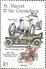 [The 100th Anniversary of the Benz Motor Cars (1886) and the 100th Anniversary of the First Ford Motor (1892), Typ FH]