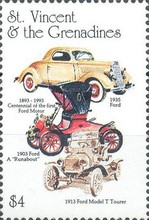 [The 100th Anniversary of the Benz Motor Cars (1886) and the 100th Anniversary of the First Ford Motor (1892), Typ FI]