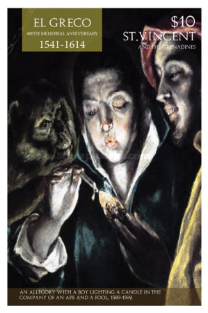 [The 400th Anniversary of the Death of El Greco, 1541-1614, type GMD]