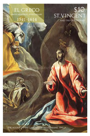 [The 400th Anniversary of the Death of El Greco, 1541-1614, Typ GME]