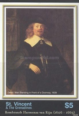 [The 400th Anniversary of the Birth of Rembrandt, 1606-1669, Typ XWP]