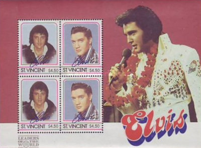[The 50th Anniversary of the Birth of Elvis Presley, 1935-1977, type ]